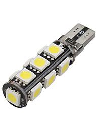 20x Canbus Wedge T10 White 192 168 194 W5W 13 5050 SMD LED Light Lamp Bulb Error Free 12V