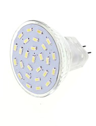 2.5w g4 gu4 (mr11) led spotlight mr11 27 smd 3014 180-200lm blanc chaud blanc froid 3000k / 6000k décoratif dc 12 ac 12v