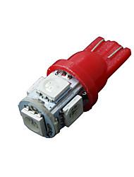 Недорогие -10 х красный T10 5-SMD 5050 привело интерьер лампочки W5W 158 192 2 825 194 168