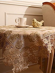 Contracted Fashion Lace Table Cloth Cover Towel Tea Table Vantage Rustic Style