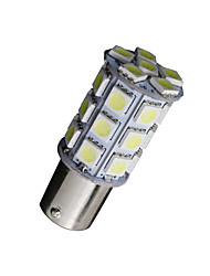 Недорогие -10x холодный белый 1156 BA15S 27-SMD 5050 LED Light резервного копирования луковицы обратного 7506 одна тысяча сто сорок один