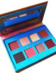 baratos -8 cores Sombra para Olhos / Pós / Espelho de Maquilhagem Olhos Espelho / Natural Maquiagem para o Dia A Dia / Maquiagem para Dias das Bruxas / Maquiagem de Festa Maquiagem Cosmético