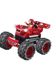 economico -WOMA Macchinine giocattolo / Costruzioni 114pcs Auto / Cavallo / Macchina da corsa Fai da te / Originale / Creativo Macchina da corsa Da