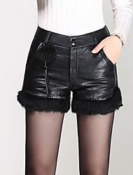 cheap -Women's Plus Size Slim Jeans Pants - Solid