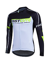 cheap -Fastcute Men's / Women's Long Sleeve Cycling Jersey Bike Jersey, Quick Dry, Breathable, Sweat-wicking Coolmax®