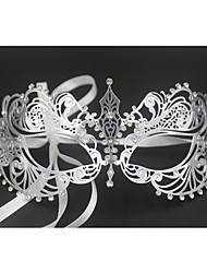 Women's Laser Cut Metal Venetian Pretty Masquerade Mask1001A4
