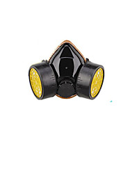 cheap -Dual Canister Activated Carbon Gas Mask(Model: K-5039,[Material]: PVC/TPR.)