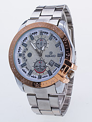 cheap -Men's Fashion Watch Quartz Swiss / Designers Alloy Band Casual Rose Gold