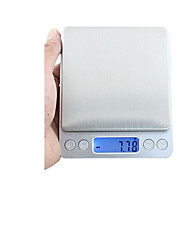 precisão escala mini jóias electrónico (gama de pesagem: 3 kg / 0.1g)