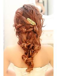 Imitation Pearl Alloy Headbands Hair Combs Flowers Head Chain Hair Tool Headpiece