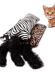 cheap -Catnip Toys Cat Teasers Scratch Pad Leopard Textile Sponge For Cat Kitten