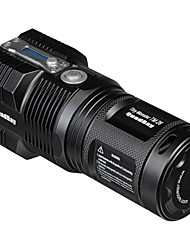 Nitecore TM26 LED Flashlights / Torch LED 3000 lm 5 Mode Cree XM-L T6 with Charger Rechargeable Dimmable Waterproof With Tripod Compact