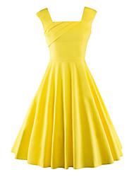 cheap -Women's Daily / Beach Vintage / Street chic A Line Dress
