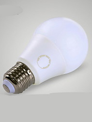 cheap -B22 E26/E27 LED Globe Bulbs A60(A19) 18 leds SMD Decorative Warm White Cold White ≥600lm 3000-6000K AC 220-240V