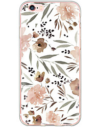 cheap -Pattern Flowers PC Hard Case Back Cover Foundas Capa For Apple iPhone 6s Plus/6 Plus/iPhone 6s/6/iPhone 5/5s/SE