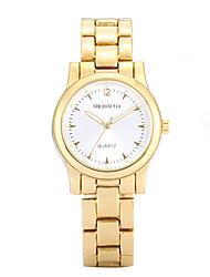levne -REBIRTH Dámské Křemenný Náramkové hodinky Hodinky na běžné nošení Slitina Kapela Na běžné nošení Hodinky k šatům Elegantní Módní Zlatá