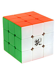 Rubik's Cube Zhanchi 5 55mm 3*3*3 Smooth Speed Cube Magic Cube Professional Level Speed ABS Square New Year Children's Day Gift