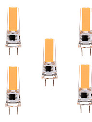 5W G8 LED Bi-pin Lights T 1 COB 350-450 lm Warm White Cold White 2800-3200/6000-6500 K Dimmable Decorative AC 220-240 AC 110-130 V