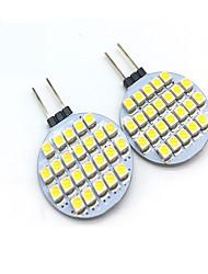 economico -2W G4 Luci LED Bi-pin T 24 leds SMD 3528 Decorativo Bianco caldo Luce fredda 200lm 3000/6000K DC 12V