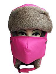 baratos -Gorro Chapka Chapéu de Pelo Esqui Chapéu Homens Mulheres Térmico/Quente Pranchas de Snowboard Poliéster Esportes de Inverno Inverno