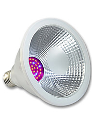 preiswerte -1pc 400 lm E26/E27 Wachsende Glühbirnen PAR38 36 Leds SMD 3020 Wasserfest Rosa Wechselstrom 100-240V Wechselstrom 220-240V