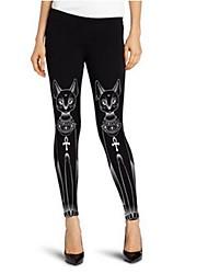 Women's Fashion Print Legging,Polyester,Animal printing,Cool