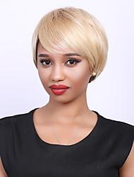 top vente de cheveux humains perruque de cheveux perruque courte