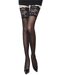 cheap -Women's Thin Stockings-Jacquard