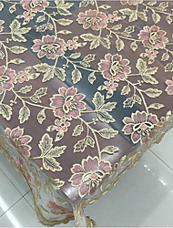 cheap -Polyester Rectangular Table Cloth Patterned / Embroidered Eco-friendly Table Decorations 1 pcs