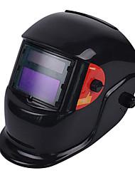 cabeça vestindo tipo de máscara de solda elétrica