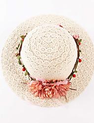 Cappello da sole Donna Casual Molla / Estate Lino