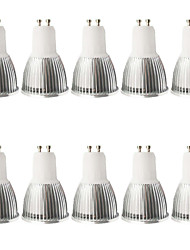 5W GU10 LED Spotlight MR16 1 COB 400-450 lm Warm White Cold White 3000-6000 K Dimmable Decorative AC 100-240 AC 110-130 V