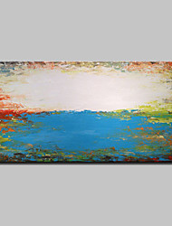 Hand Painted Abstract Landscape Oil Painting On Canvas Wall Art Pictures With Stretched Frame Ready To Hang