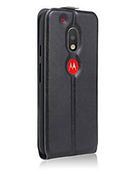 Crazy Horse Pattern Up And Down With Photo Frame Protective Cover For Motorola Series