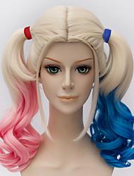 abordables -Pelucas sintéticas / Pelucas de Broma Pelo sintético Peluca Mujer Sin Tapa