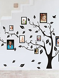 cheap -Family Tree Photo diy pvc wall sticker vintage posters mural decor brick wallpaper Decorative diy Mural Wallpaper