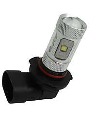 Недорогие -2 х белый высокой мощности 30w HB4 9006 Светодиодные лампы ДРЛ туман / дальнего света лампы 12V-24V