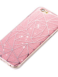 cheap -New Acrylic Luxury Creative Diamond Lattice IMD Flash Powder Cases for iPhone5/5S/SE/6/6s/6 Plus/6S Plus