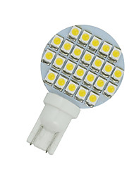 cheap -10 X Warm White T10 Wedge RV Landscaping 24-SMD LED Light bulbs W5W 921 168 194