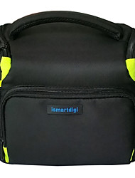 ismartdigi i106 Camera Bag for All DSLR DV Nikon Canon Sony Olympus...Cameras(Green/Red)