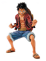 cheap -Anime Action Figures Inspired by One Piece Monkey D. Luffy PVC 18 CM Model Toys Doll Toy