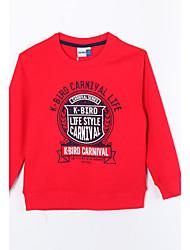 preiswerte -Kleidungs Set Alltag Solide Baumwolle Herbst Schwarz Grau Rot