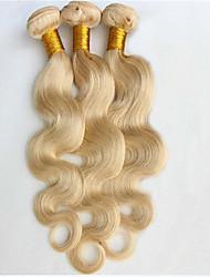 billige -Brasiliansk hår Krop Bølge Menneskehår Vævninger 3 Dele 0.3