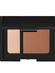 cheap -2 Colors Makeup Set Pressed powder Concealer / Contour Dry / Matte / Combination Waterproof / Whitening / Coverage Face China Makeup Cosmetic