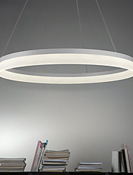 cheap -Circular Pendant Light Ambient Light - LED, 90-240V, Warm White / White, LED Light Source Included / 5-10㎡ / LED Integrated