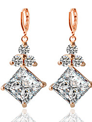 cheap -Women's Drop Earrings - Fashion Gold / Silver For Wedding Party Daily / Casual