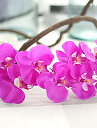 cheap -Artificial Flowers 1 Branch Pastoral Style Orchids Tabletop Flower