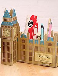 cheap -DIY Cardboard Desktop Storage Box(The Big Ben)