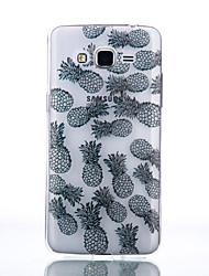 Недорогие -Кейс для Назначение SSamsung Galaxy Кейс для  Samsung Galaxy Прозрачный / С узором Кейс на заднюю панель Однотонный Мягкий ТПУ для J7 (2016) / J5 (2016) / J5