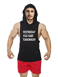 cheap -Men's Gym Tank Top Sleeveless Quick Dry Breathable Softness Held-In Sensation Comfortable Static-free Lightweight Materials Sweat-wicking